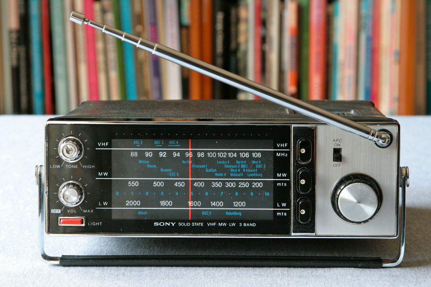 Sony Transistor Radio Tfm-8030l