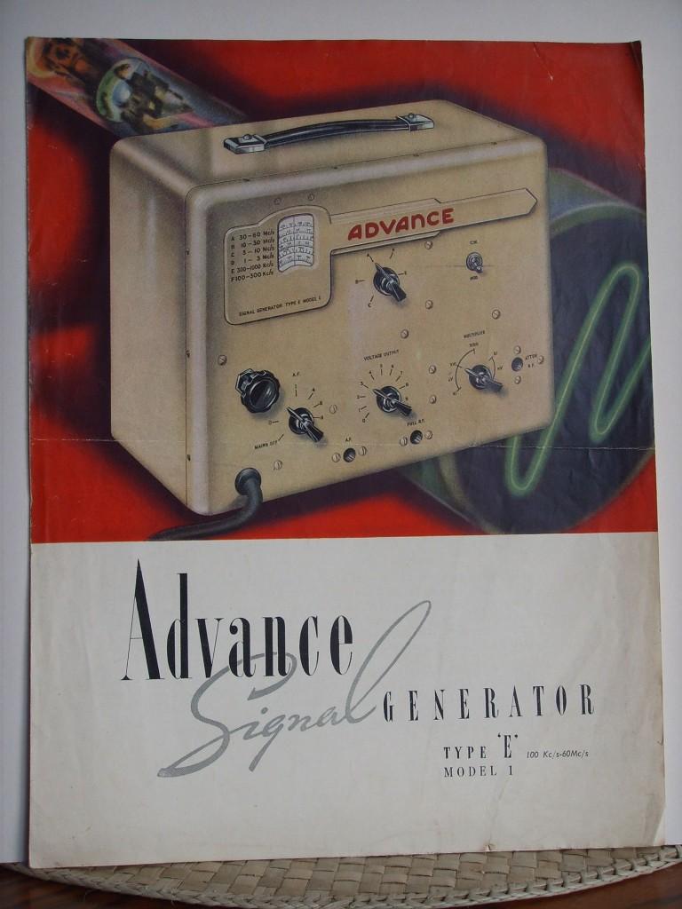 Advance Signal Generator Type E – Radio Retro