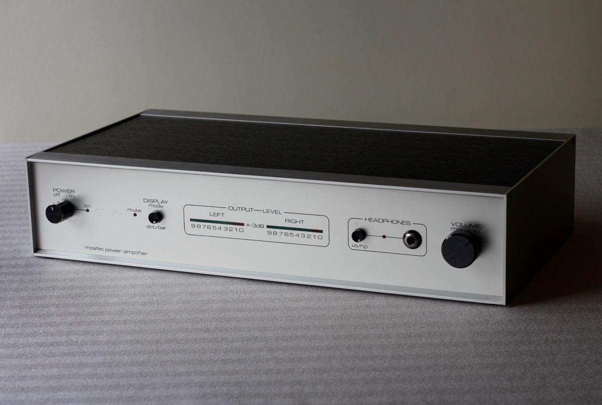 Home Brew Hitachi Mosfet Power Amplifier Radio Retro 25 Watt Based