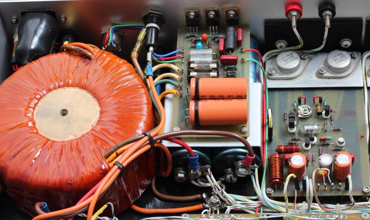 Home Brew Hitachi Mosfet Power Amplifier Radio Retro Circuits