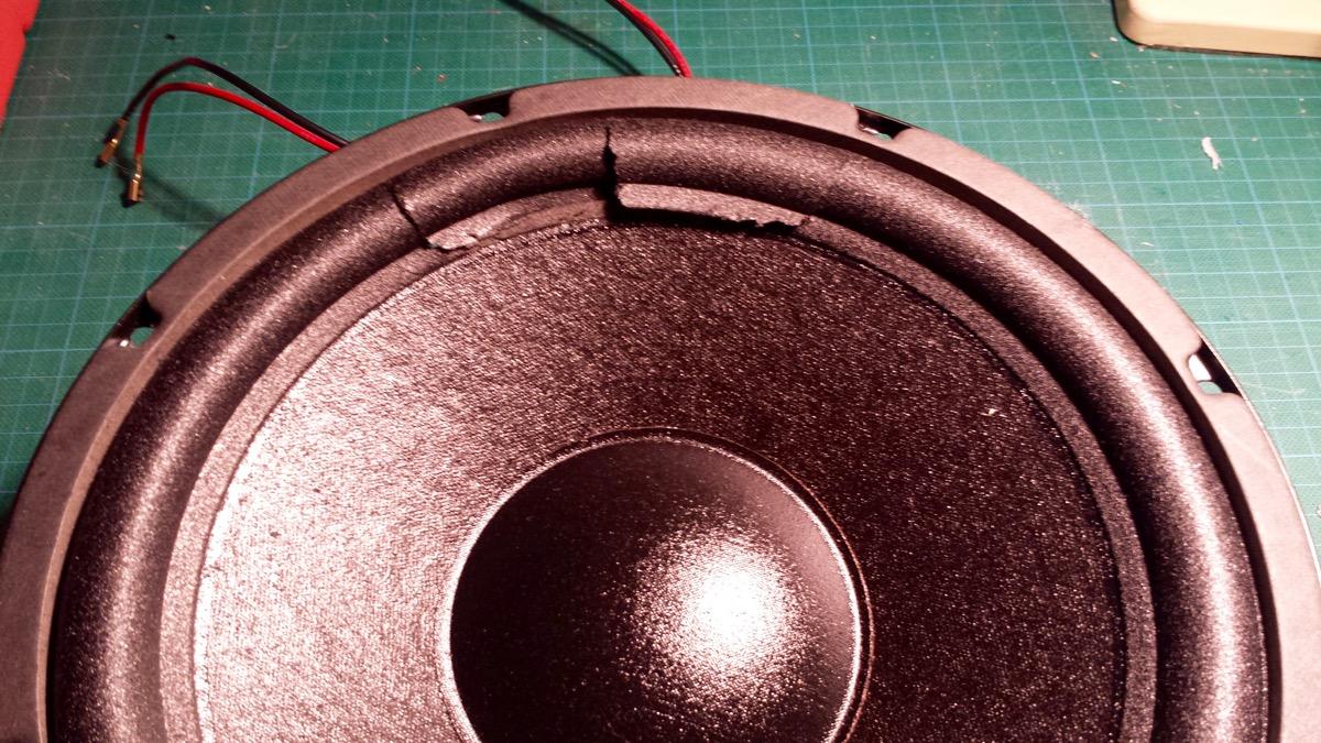 Paradigm PDR10 Foam Rot Replacement Sub Woofer Fix - Radio Retro