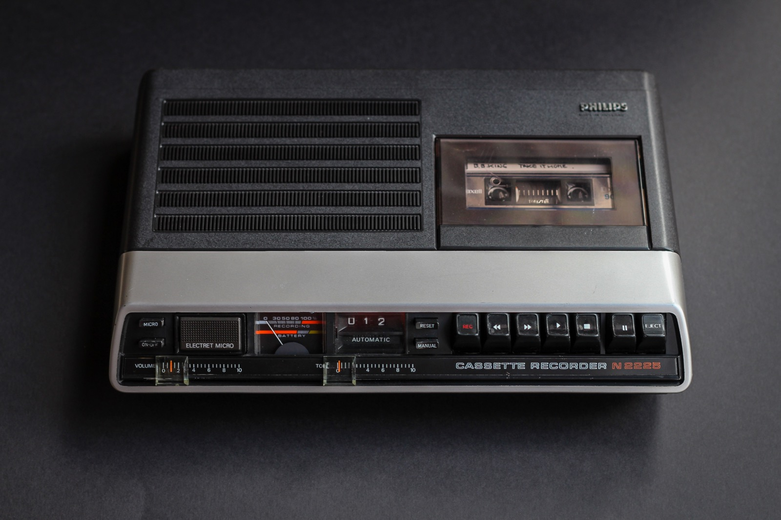 Philips N2225 Cassette Recorder