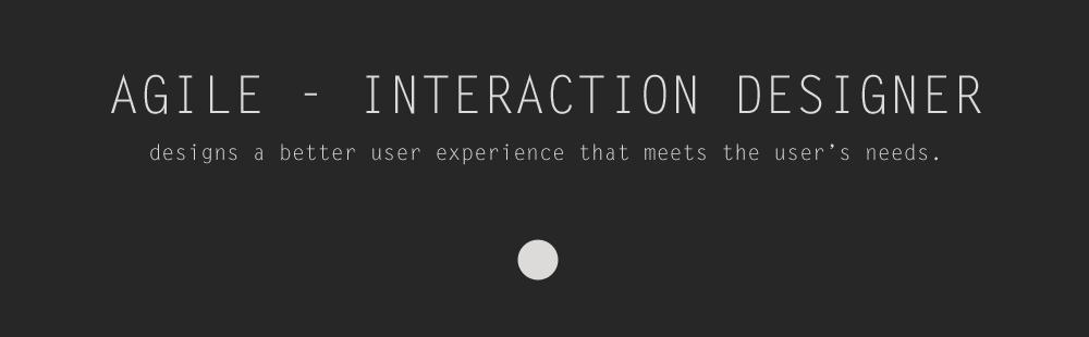 Agile Interaction Designer
